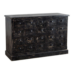 Valsetz Dresser - Black - Product Features: