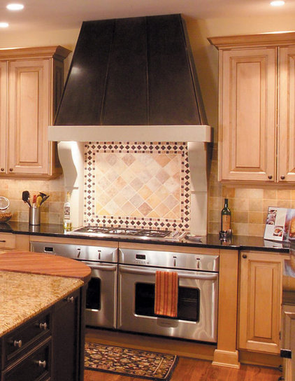 Modern Range Hoods And Vents by Old World Stoneworks