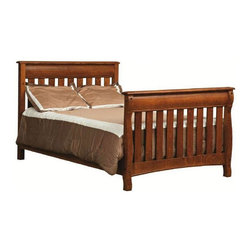 Chelsea Home - Convertible Crib Set in Asbury Brown Stain Fi - Mattress not included. Adjustable with age and size of the child. Guard rail and 3-level mattress support. Conform to the consumer product safety commission (CPSC) 16CFR1219 and ASTM F1169-10A standards. Up to date with all regulations tested through certified third party labs. Constructed with quality and durability. Made from mortise and tenon white quartersawn oak joint. Assembly required. Crib: 56 in. L x 32 in. W x 44 in. H (100 lbs.). Toddler rail: 51 in. L x 1 in. W x 4 in. H (10 lbs.). Full size rails: 76 in. L x 1 in. W x 7 in. H (20 lbs.)Chelsea Home Furniture proudly offers handcrafted American made heirloom quality furniture, custom made for you. What makes heirloom quality furniture? Its knowing how to turn a house into a home. Its creating memories. Its ensuring the furniture you buy today will still be the same 100 years from now! Every piece of furniture in our collection is built by expert furniture artisans with a standard of superiority that is unmatched by mass-produced composite materials imported from Asia or produced domestically. Many pieces are signed by the craftsman that produces them, as these artisans are proud of the work they do! In addition, our craftsmen use tongue-in-groove construction, and screws instead of nails during assembly and dovetailing both painstaking techniques that are hard to come by in todays marketplace. So adorn your home with a piece of furniture that will be future history, an investment that will last a lifetime