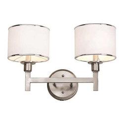 Trans Globe Lighting - Trans Globe Lighting 1052 BN Bathroom Light In Brushed Nickel - Part Number: 1052 BN