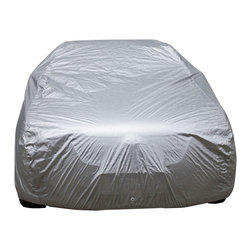 Oxgord - Oxgord Sunproof Outdoor Usage Car Cover - Keep your prized possession protected with this sunproof outdoor car cover. Constructed of seven layers of polyurethane,this cover protects your car from the sun,dust,and natural pollutants. Side grommets and elastic pull strings are included.
