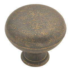 Hickory Hardware - Oxford Antique Windover Antique Cabinet Knob - Refreshing in its simplicity, Rustic style highlights natural beauty and a rugged, resilient spirit.  Thanks to the unpretentious roots, organic textures, shapes and natural warmth, its become as popular in the heart of the city as it is out in the woods.