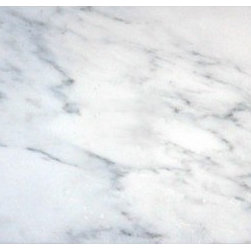 "Marbleville - Arabescato Carrara 6"" x 12"" Polished Marble Floor and Wall Tile - Premium Grade Arabescato Carrara 6"" x 12"" Polished is a splendid Tile to add to your decor. Its aesthetically pleasing look can add great value to any ambience. This Mosaic Tile is made from selected natural stone material. The tile is manufactured to high standard, each tile is hand selected to ensure quality. It is perfect for any interior projects such as kitchen backsplash, bathroom flooring, shower surround, dining room, entryway, corridor, balcony, spa, pool, etc."