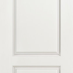 2-Panel Arch Top Interior Door - The 2-Panel Arch Top door is a more contemporary version of the 2-panel door and this stylish selection gives a handsome update to any interior. Elegant and refined, this door is engineered to resist warping, shrinking and cracking and is offered for closets, pocket doors, barn doors, and fire doors.