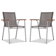 Contemporary Outdoor Chairs Panya Garden Chair Set - Currently out of stock.