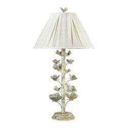 Dimond - One Light Marauder White Table Lamp - One Light Marauder White Table Lamp