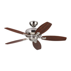 """Monte Carlo - Monte Carlo Centro Max II 5 Bladed 44"""" Indoor Ceiling Fan - Blades Included - Features:"""