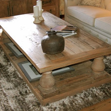 Contemporary Coffee Tables by AMIGHINI Antique & Custom Doors