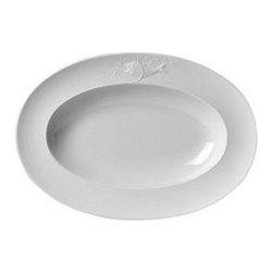 Ginori - Galatea Large Oval Platter by Richard Ginori - Galatea Oval Platter   48cm    19 inch