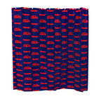 College Covers - NCAA Ole Miss Rebels Shower Curtain Bathroom Decoration - Features: