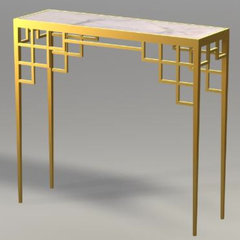 asian bar tables by Beth Connolly