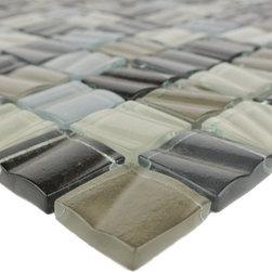 "GBM Manufacturing - New Era Collection Beach Sand, Tile - 1-1/4""x1-1/4"" | 11 shts/box | 1.09 sq.ft/sht | 8mm"