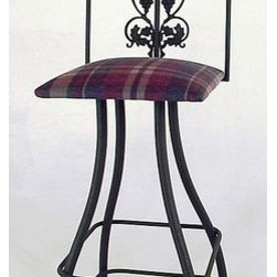 "Grace - Tall Grapes Swivel Stool - Features: -Painted according to your choice of metal finish. -Ships fully assembled. -Dimensions: 16"" W x 19"" D x 49"" H. -Seat Height: 36"". About Grace Collection: Grace Manufacturing is a metal and wrought iron furniture manufacturing company located in Rome, GA. The company has been in business for 25 years and continues to employ skilled artisans and craftsmen. In addition to their state of the art manufacturing equipment they still assemble and finish many products by hand. Many items in the Grace Collection are fully hand made or hand painted. With products ranging from barstools, counter stools, and dinettes to wrought iron beds, hanging potracks, bakers racks and more, Graces line meets all professional and home needs. By implementing unique styles and ideas to traditional products, Grace has created an exceptional balance between creativity and practicality. Their design styles range somewhere between whimsical, neo classic and traditional, thus creating a truly astonishing decor for any inside space."