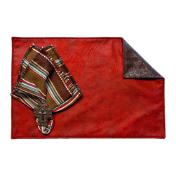 Silverado Home - Frisco Red Placemat - Sold in Sets of Four: