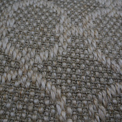 "Natural Fiber Rugs & Carpets - This geometric sisal offered for wall to wall installation, as area rugs of any size up to 16'3"" wide and runners.  Choose from a variety of edge bindings including serging, wide cotton, linen, leather, tapestry fabric, Sunbrella and more.  Purchase at Hemphill's Rugs & Carpets Orange County, CA"