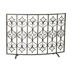 Cyan Design - Cyan Design Lighting 04007 Casablanca Fire Screen - Cyan Design 04007 Casablanca Fire Screen
