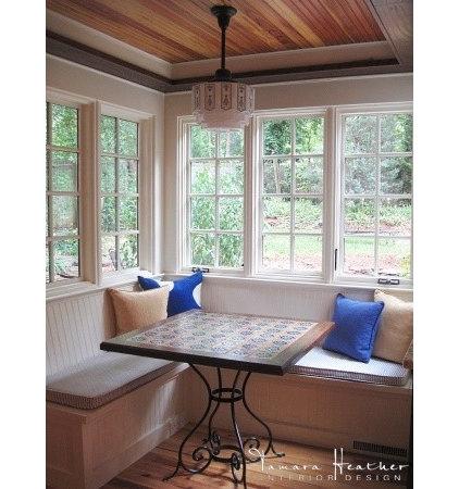 Eclectic Kitchen by Tamara Heather Interior Design, LLC