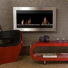 Contemporary Fireplaces by ATGStores.com