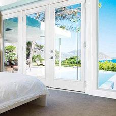 Contemporary Windows And Doors by US Door & More Inc