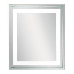 Kichler Lighting - Kichler Lighting 78201 Clear Mirror - 1 Bulb, Bulb Type: 40 Watt T5 Fluorescent, Bulb Included