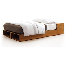 Modern Platform Beds by Viesso