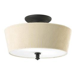 "Thomasville Lighting - Thomasville Lighting P2827-80 Meeting Street 14"" Two Light Semi-Flush Mount Ceil - Features:"