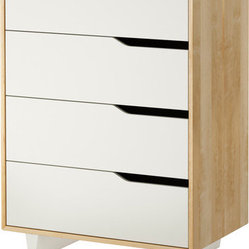 MANDAL 4-drawer chest