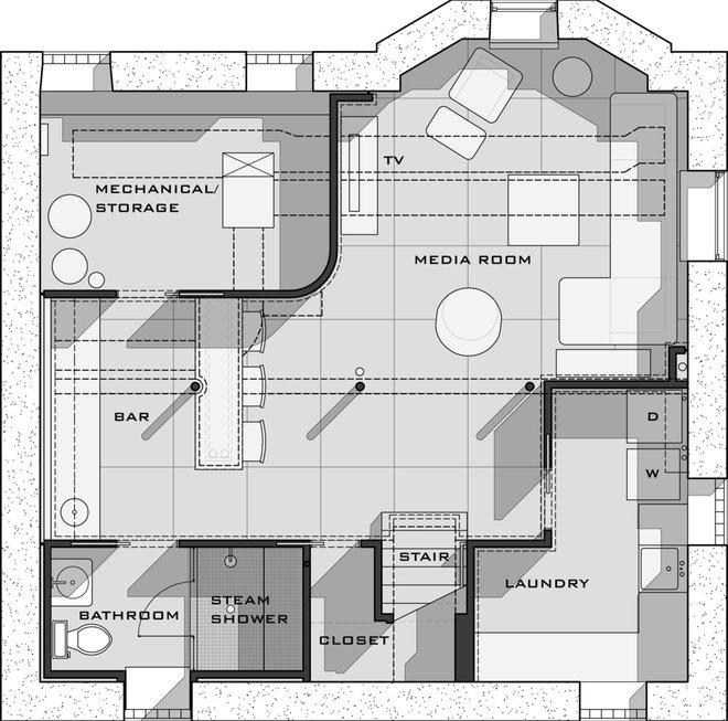 Modern  by Ryan Duebber Architect, LLC