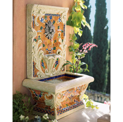 Traditional Outdoor Fountains by Neiman Marcus