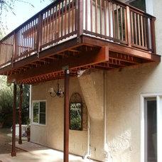 Modern Patio by California Decks
