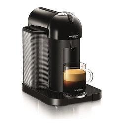 Nespresso - Nespresso Vertuo Black GCA1 US BK NE, Black - Product Description