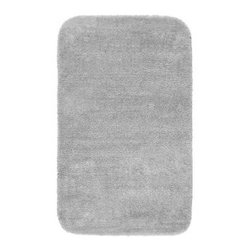 "Garland Rug - Bath Mat: Accent Rug: Traditional Platinum Gray 30"" x 50"" Bathroom - Shop for Flooring at The Home Depot. Traditional Bath Rugs will complement any bathroom decor. The basic plush design is a classic look. Traditional bath rugs are made with 100% Nylon for superior softness and quality. Proudly made in the USA."