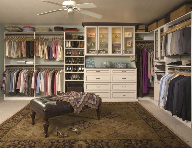 Closet Organizers by Posh Spaces