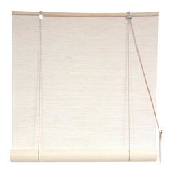 Oriental Unlimited - White Bamboo Blinds (60 in.) - Size: 60 in.. Feature White Bamboo matchsticks. Easy to hang and operate. 24 in. W x 72 in. H. 36 in. W x 72 in. H. 48 in. W x 72 in. H. 60 in. W x 72 in. H. 72 in. W x 72 in. H