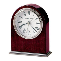 HOWARD MILLER - Alarm Clock - Howard Miller Walker - This sophisticated alarm clock features: