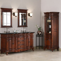 Xylem Bathroom Vanities - Xylem Bathroom Cabinets of today come in different shapes, sizes and shades to suit dissimilar types of homes. Although the most common color for Xylem Bathroom Vanities units is Antique Cherry, Antique Bisque and Dark Espresso Finish you could find other textures that match the remaining colors in the bathroom too. You could also find wooden or metal units that would go with any colors, in case you wish to change the color once in a while. The major benefit of Xylem Bathroom Vanities is that they are highly flexible and great space savers. You could use them as mirror holders and at the same time store your bathroom toiletries inside.  Xylem Bathroom Vanities always make bath cabinets match the bathroom size and color.