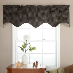 Ellis Curtain - Ellis Curtain Tyvek Lined Scallop Valance - T782-LINED SCALLOP VALANCE-BLUE - Shop for Window Treatments from Hayneedle.com! About A.L. Ellis Inc.Established in 1920 by Arthur Linwood Ellis A.L. Ellis Inc. is a 5th generation family owned and operated manufacturing company. With their headquarters located less than an hour away from the manufacturing facility they can easily control the wholesale business and produce their mail order catalogs. Their hand-made products consist of curtains draperies top treatments bedding toss pillows and chair pads. The main objective for A.L. Ellis Inc. is to always provide customers with high-quality products at a competitive price and in a timely manner. Remaining committed to the customer A.L. Ellis Inc. is a trusted company you can count on. Begin decorating your house with any of their products!