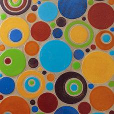 Modern Tile by Mercury Mosaics and Tile