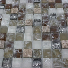 modern bathroom tile by Glass Tile Store