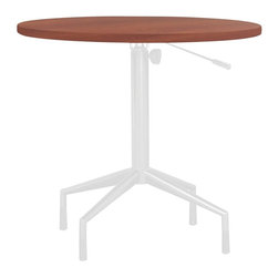 Safco - RSVP 30 in. Round Table Top (Gray) - Finish: Gray. Laminate. Base not included. 30 in. Dia. x 1 in. HNo need to call ahead with RSVP Tables. With these elegantly designed tables any hospitality area will be ready to entertain guests or to get down to business. Use RSVP outside conference areas for people to gather, or use in meeting areas to allow flexibility in how employees meet. Make RSVP a part of your conference or meeting rooms, or have them available near a print station for organizing projects. Use them in lobbies while enjoying a cup of coffee or in a waiting area. RSVP - your table is waiting.