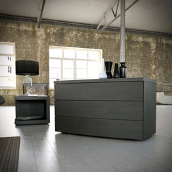 Mod Loft Ludlow Dresser - *Features clean lines and a subtle curved shape.