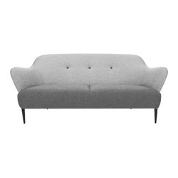 Bryght - Gray Mid-Century Modern Sofa | Retro Mid-Century Modern Furniture - A stunning silhouette with dual shades of gray, the Retro sofa brings a refreshingly modern perspective to an interior.