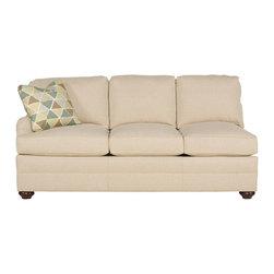 Vanguard Furniture - Vanguard Furniture East Lake Left Arm Sofa 603-LAS - Vanguard Furniture East Lake Left Arm Sofa 603-LAS