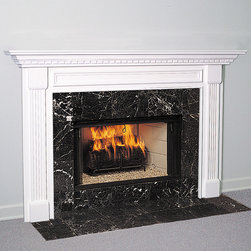 Fireplace Mantels - Wood - The Jackson Wood Fireplace Mantel is a classic design perfect for any traditional home. Available in four wood options, a choice of stains and custom or standard sizes, this is one mantel that is truly made-to-order.