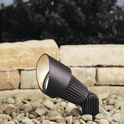 Kichler - Kichler No Family Association Outdoor Landscape Lighting Fixture in Red - Shown in picture: Accent 1-Lt 12V in Textured Architectural Bronze