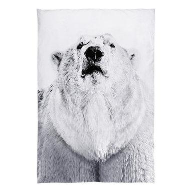 Bed Linen Bear, Polar Bear - Pure organic, simple and cozy duvet with polar bear print.