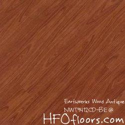 Earthwerks Wood Antique Beveled Edge Plank - Earthwerks Wood Antique, NWT9412CD-BE. Available at HFOfloors.com.