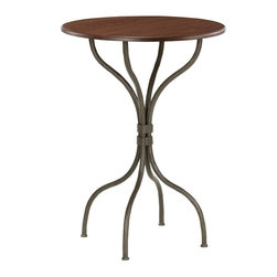 Cedarvale Bar Table (40in. Tall) by Stone County Ironworks - Dimensions: