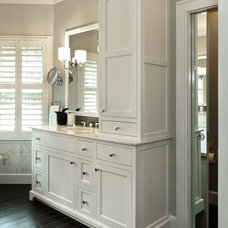 Traditional Bathroom by Divine Kitchens LLC