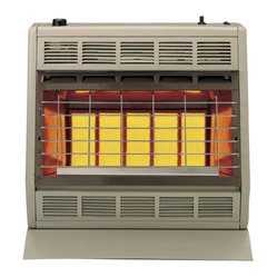 "Empire Comfort - Vent-Free Infrared Heater SR30TLP - Liquid Propane - Empire Heating Systems Radiant models produce an infrared ""radiant"" heat that instantly adds warmth to you and objects in the room just like the sun. The thermostat on the SR-30T offers you round-the-clock comfort and convenience.Features:"